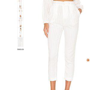 Camila Coelho Calla Pant in White